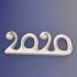 2020 new year sculpture image