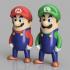 Mario Bros Minis w/ MMU image