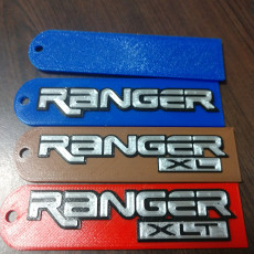 Ford Ranger XLT Key tab (updted with minor corrections from last upload)