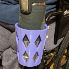 Wheelchair Cup Holder - Zip Tie Attachment
