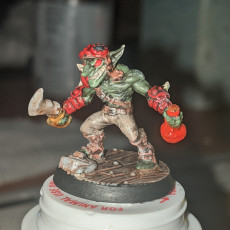 Picture of print of Sparksoot Goblin - A