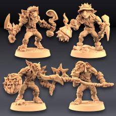 Sparksoot Goblins - 4 Modular