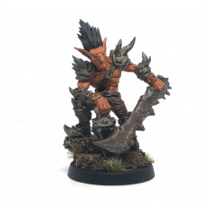 Picture of print of Dzwingo the Tallest - Sparksoot Goblin Hero