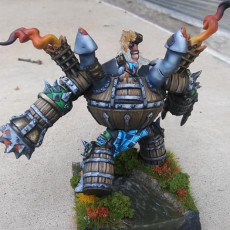 Picture of print of Sparksoot Scrap Golem