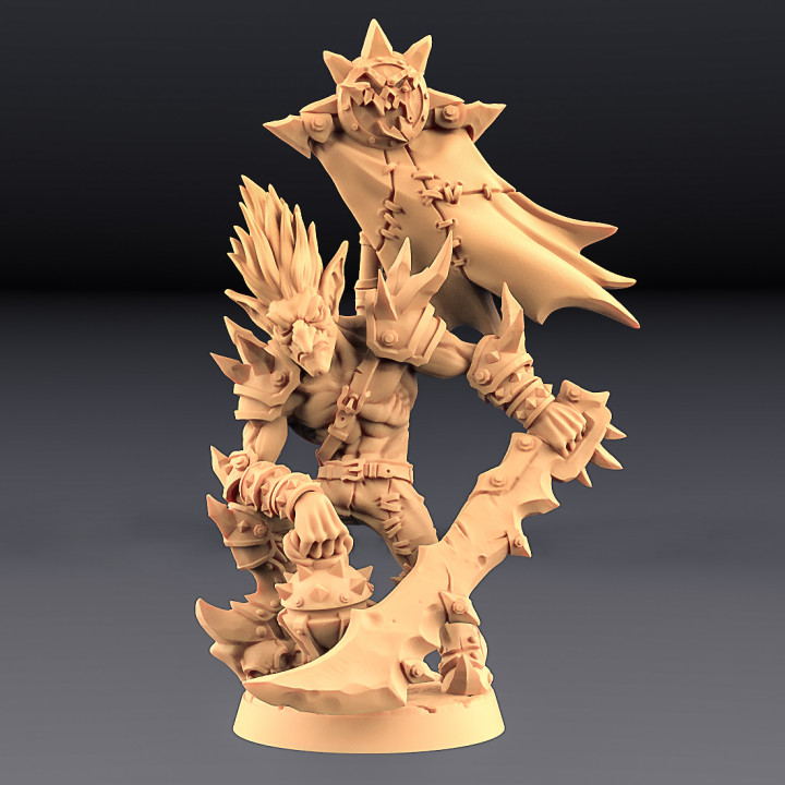 Sparksoot Goblins - 4 Modular + 2 Heroes