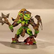 Picture of print of Sparksoot Goblins - 2 Modular (Ladies)