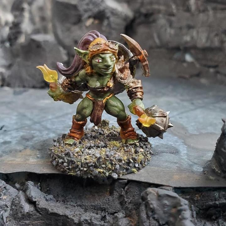 Sparksoot Goblins - 2 Modular (Ladies)