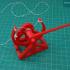 3D-printable Davinci catapult gift card print image