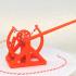 3D-printable Davinci catapult gift card image