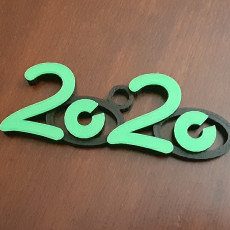 New Year 20/20 Vision Ornament