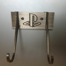 Picture of print of Playstation Dual-Shock Controller Wall Mount