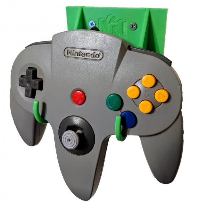 Nintendo 64 Controller Wall Mount