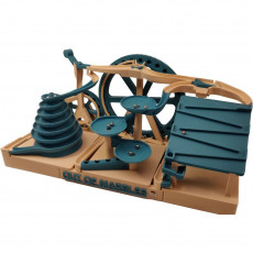 Triple Marble Machine - The Two Wheeler - Out Of Marbles