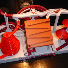 Picture of print of Triple Marble Machine - The Two Wheeler - Out Of Marbles