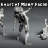 Beast of Many Faces - 3 Poses image