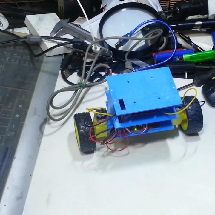Making a Self Balancing 2WD Robot Car