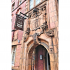 Terracotta face above 60 Newhall Street in Birmingham UK image