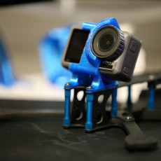 DJI Osmo Action 10°, 25° and 35° mounts for iFlight XL5