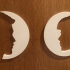 Toilet signs: Male Female / Man Woman image