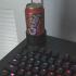 Soda can desk holder image