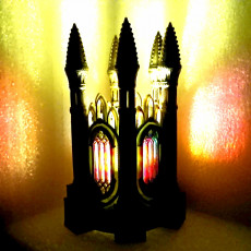 Picture of print of GOTHIC TEA LIGHT LANTERN 1