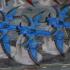 Jetfighter Eldar space Dark Elves Drow 3D print proxy model image