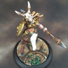 Picture of print of Sagittarius & Khararis - 2 Centaurides Heroines Set (AMAZONS! Kickstarter)
