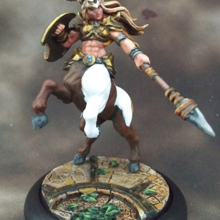 Sagittarius & Khararis - 2 Centaurides Heroines Set (AMAZONS! Kickstarter)
