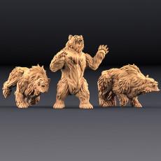 Giant Bears - 3 Units (AMAZONS! Kickstarter)