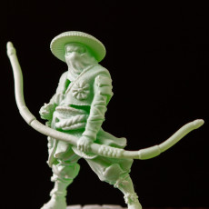 Picture of print of Ashigaru Bowman