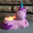 Unicorn Tea Light image
