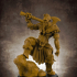 Male Barbarian (32mm Scale Miniature) image