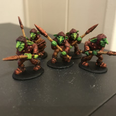 Picture of print of 3x Goblins