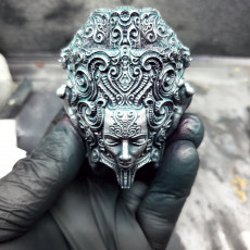 Picture of print of Ornate pen holder 3