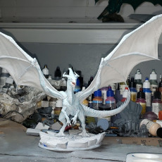 Picture of print of Ancient White Dragon