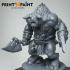 Warrior Minotaur Hero image