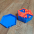 Nerf Hive Box - hexagonal darts container image