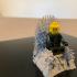 Iron Throne - Lego Compatible image