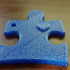 Autism Awareness Keychain image