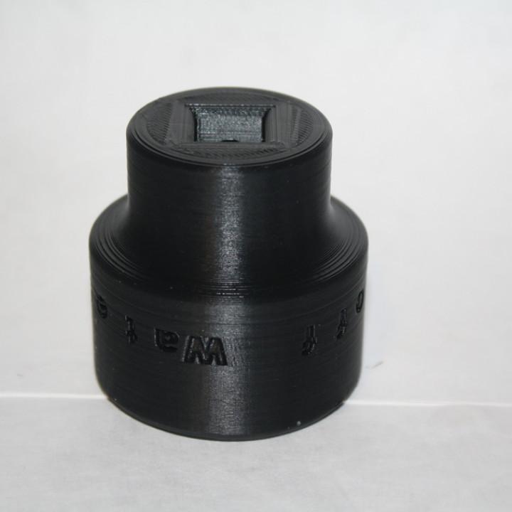 """Water Main Shutoff Tool - 1/2"""" Drive"""
