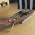 Medium Viking Warship  With 2x16 Oars ca. 850 AD and ca. 1000 AD image