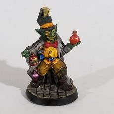 Picture of print of Goblin merchant