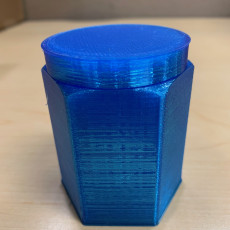 Picture of print of HexaBox