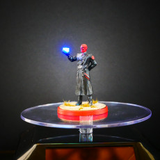Red Skull Light Up Tesseract Hand - Crisis Protocol Mini