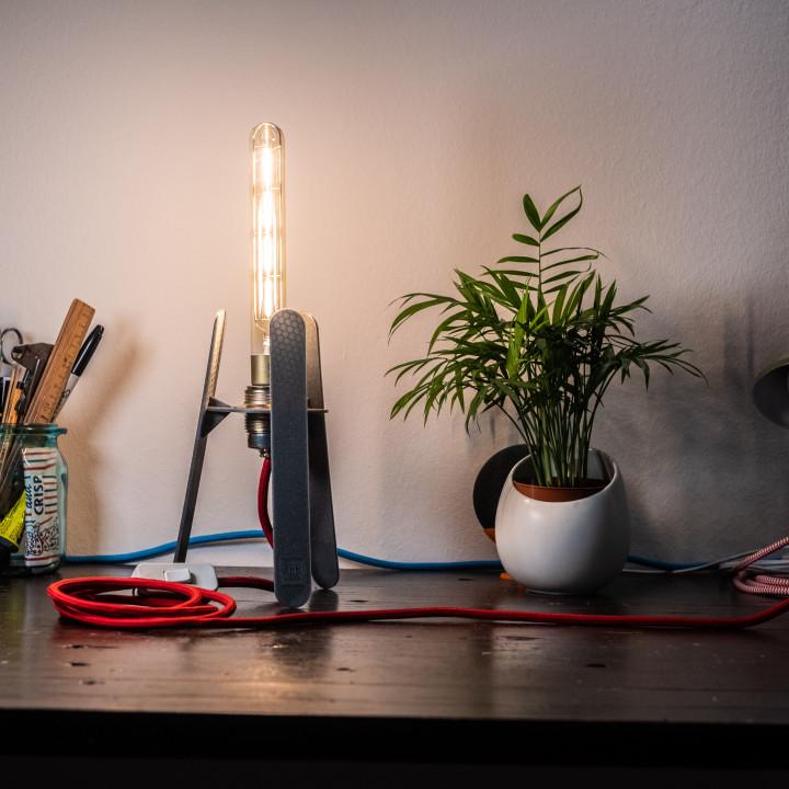 Retro Future Lamp