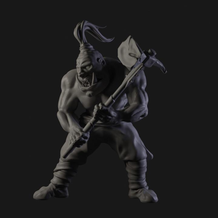 Ogre Berserker smasher