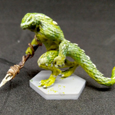 Picture of print of Lizardfolk - Tabletop Miniature