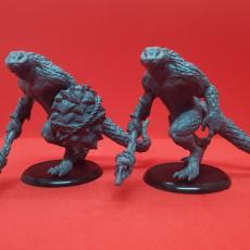 Lizardfolk - D&D Miniature