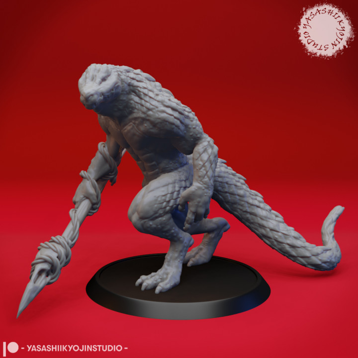 Lizardfolk - Tabletop Miniature