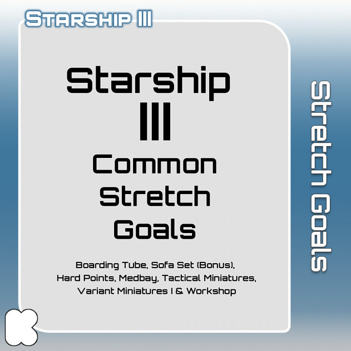 Starship III: Common Stretch Goals's Cover